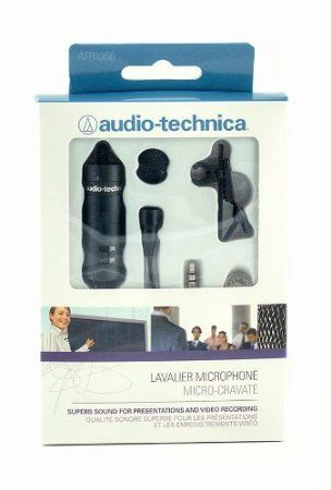 Audio Technica Atr 3350 Atr Series Omnidirectional Condenser