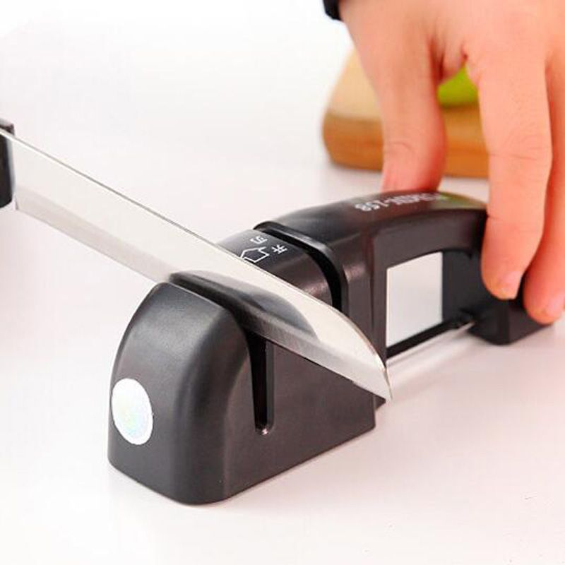 Hot sale double groove multifunction knife sharpener with