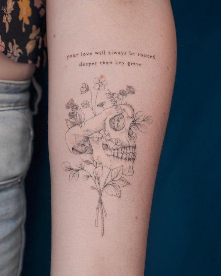 "Photo of Marisca Nagel auf Instagram: ""✨ Tief ✨. . . . . #tattooingbymars #linetatt … – Stylekleidung.com"
