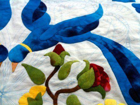 Baltimore Album quilt | Tom Russell Quilts | Balti birds ... : tom russell quilt - Adamdwight.com