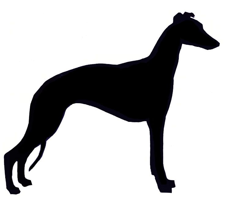 Whippet Head Silhouette - Google Search
