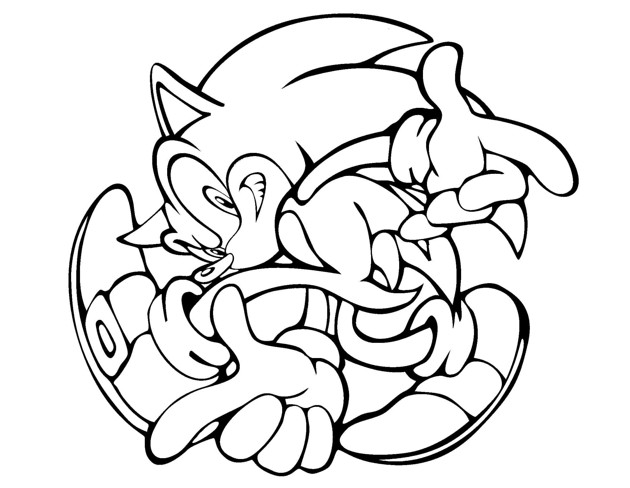 Sonic Coloring Pages Free Printable Hedgehog Colors Cartoon Coloring Pages Coloring Pages