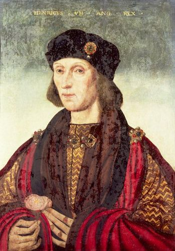 Henry VII, King of England and father of Henry, Arthur, Margaret, and Mary Tudor. Born January 28, 1457, he ruled peacefully for nearly twenty-four years until his death on April 21, 1509. He is the first monarch of the Tudor dynasty.