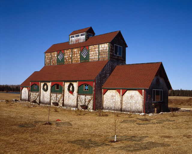 Craft Barn -   A rather unique barn in Lamoine Maine. Located on the Mud Creek Rd.
