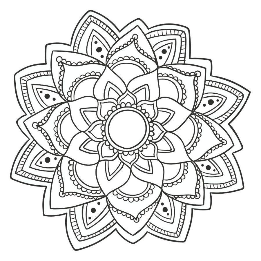 Mandalas Para Colorear Mas Dibujos De Mandalas Con Imagenes