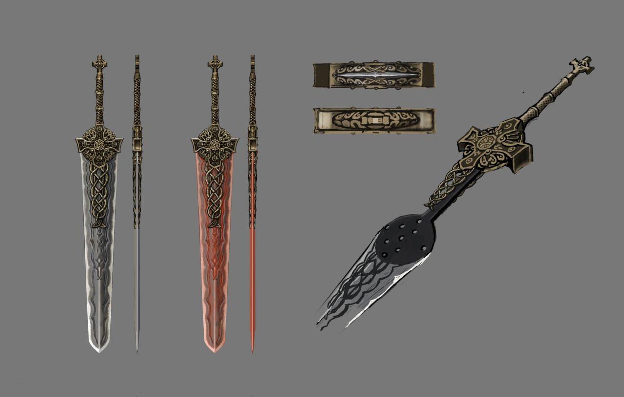 Dragon S Dogma Weapon Concept Art Dragon Age Games