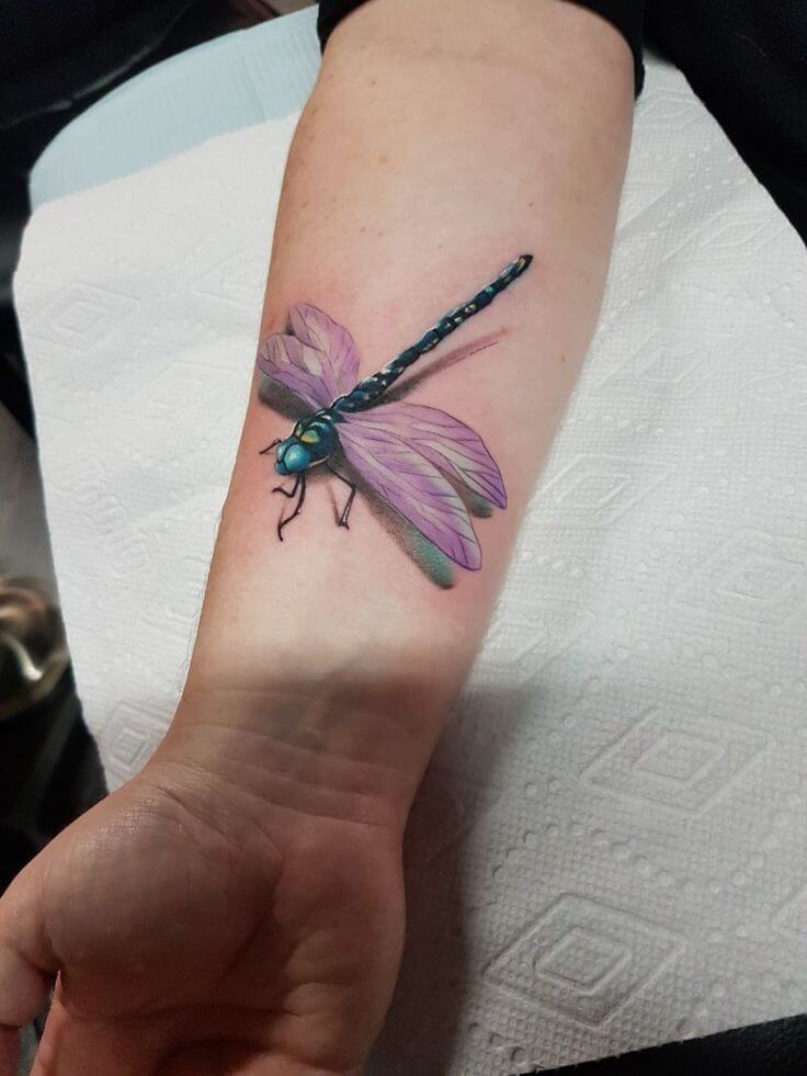 Most Beautiful 17 Dragonfly Tattoos