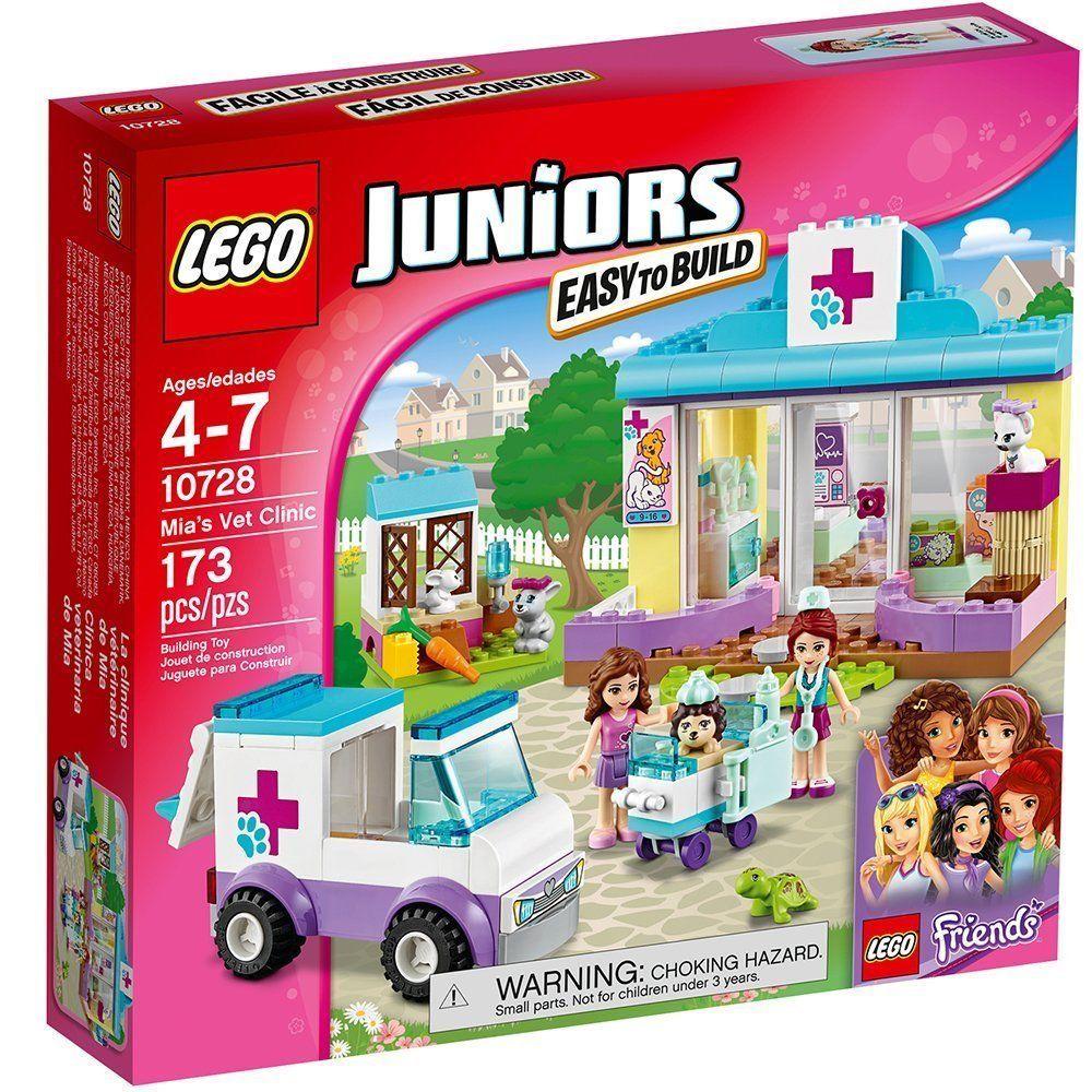 Lego Juniors Mias Vet Clinic Construction Set 10728 Ebay