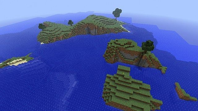 Survival Island Map 1.7.4/1.7.2/1.6.4 - http://www.minecraftjunky ...