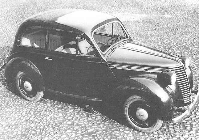 OG Fiat Prototype Of The First Ponton Model Developed - Fiat 700