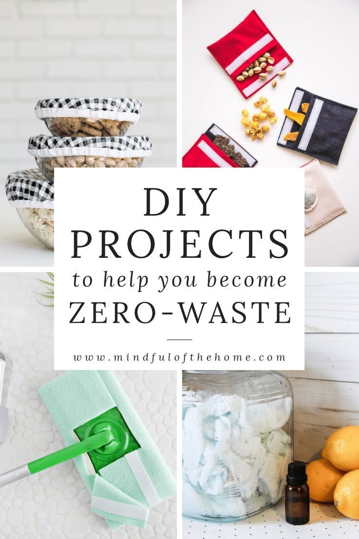 15 Zero-Waste DIY Ideas For Your Eco-Friendly Home - Mindful of the Home