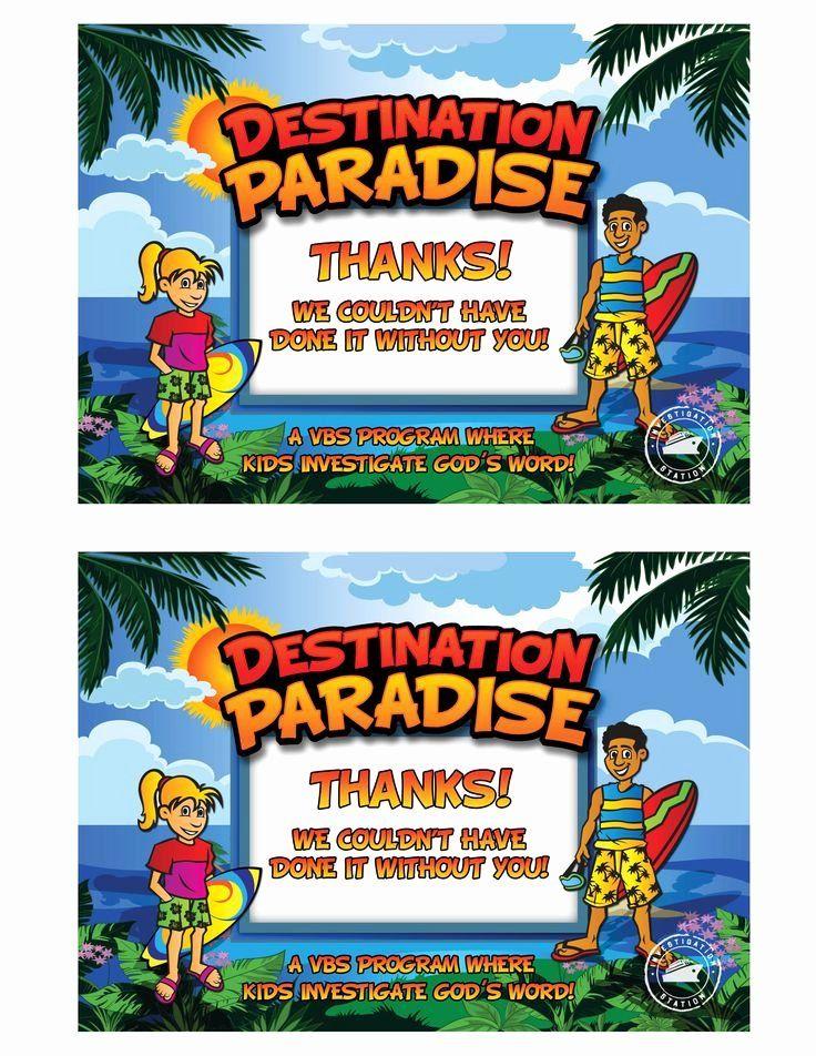 30 Printable Vacation Bible School Certificate Of