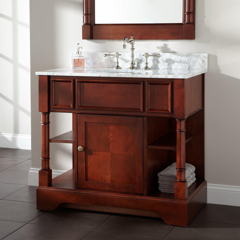 Salford Vanity For Undermount Sink  Wood Vanities  Bathroom