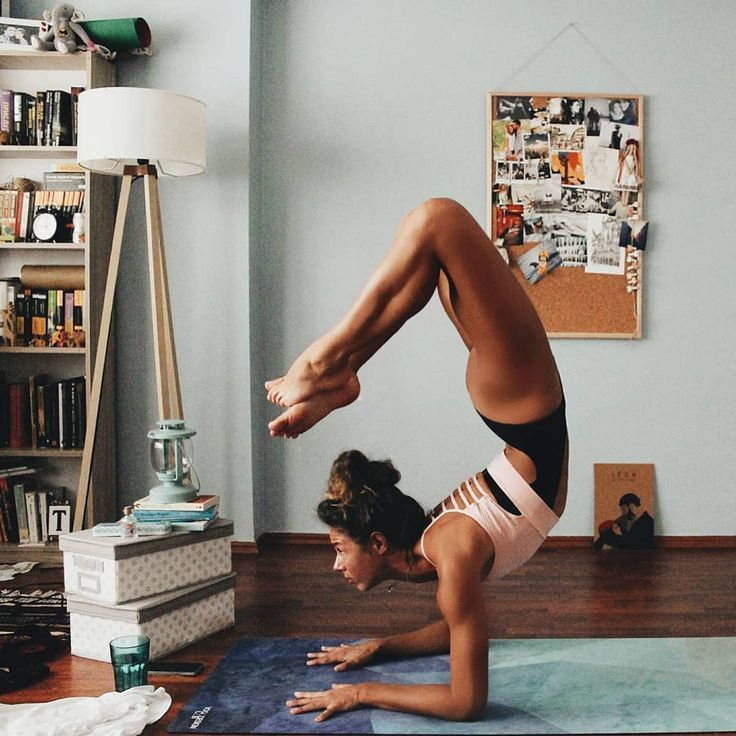 Image could contain: 1 person, living room and interior - Yoga & Fitness -  Image could contain: 1 p...