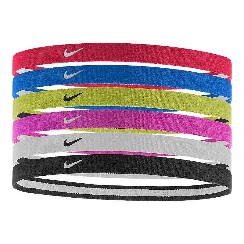Nike Swoosh Sport Girls' Headbands 6 Pack Sports