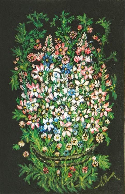 Grand bouquet champêtre, Séraphine Louis, 1927