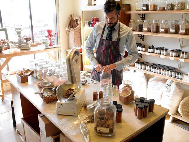 Oaktown Spice Shop Spice Shop Store Design Shopping