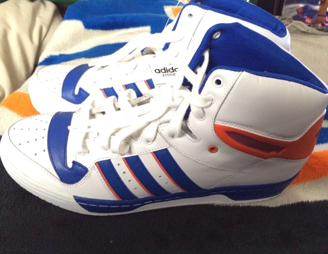 Adidas, New York Knicks Edition | High top sneakers, New