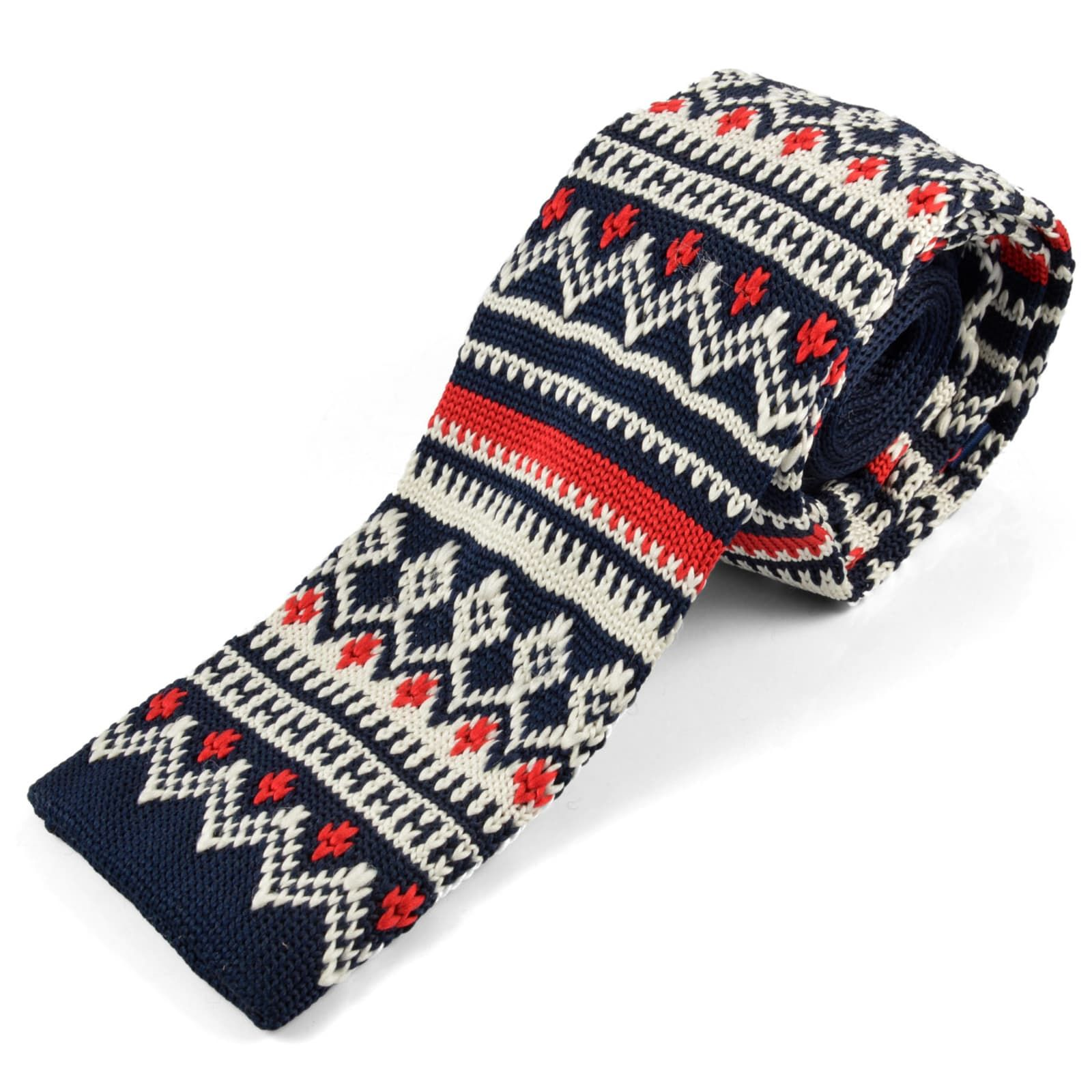 Photo of Winter Knitted Tie | Tailor Toki | 365 day return policy