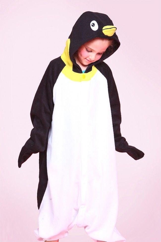 Kids Penguin Onesie Kigurumi Pajamas Penguin Onesie Onesies