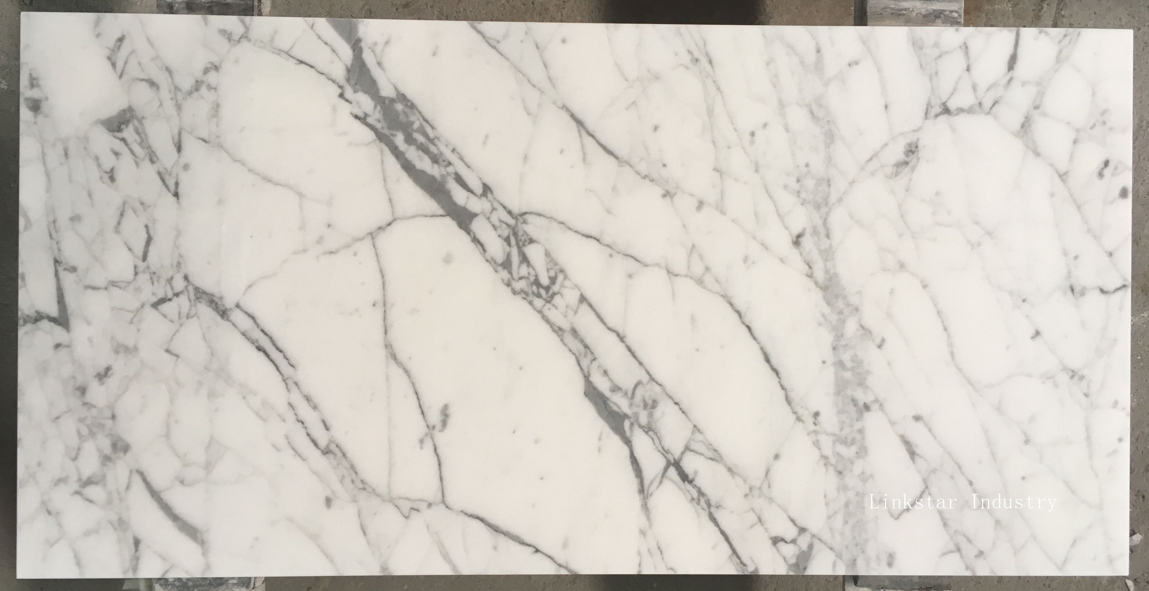 carrara white stone slab tile 24''*12'' honed | white carrara