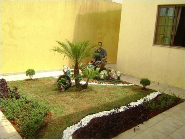 jardim pequeno Jardim Pinterest Jardins pequenos