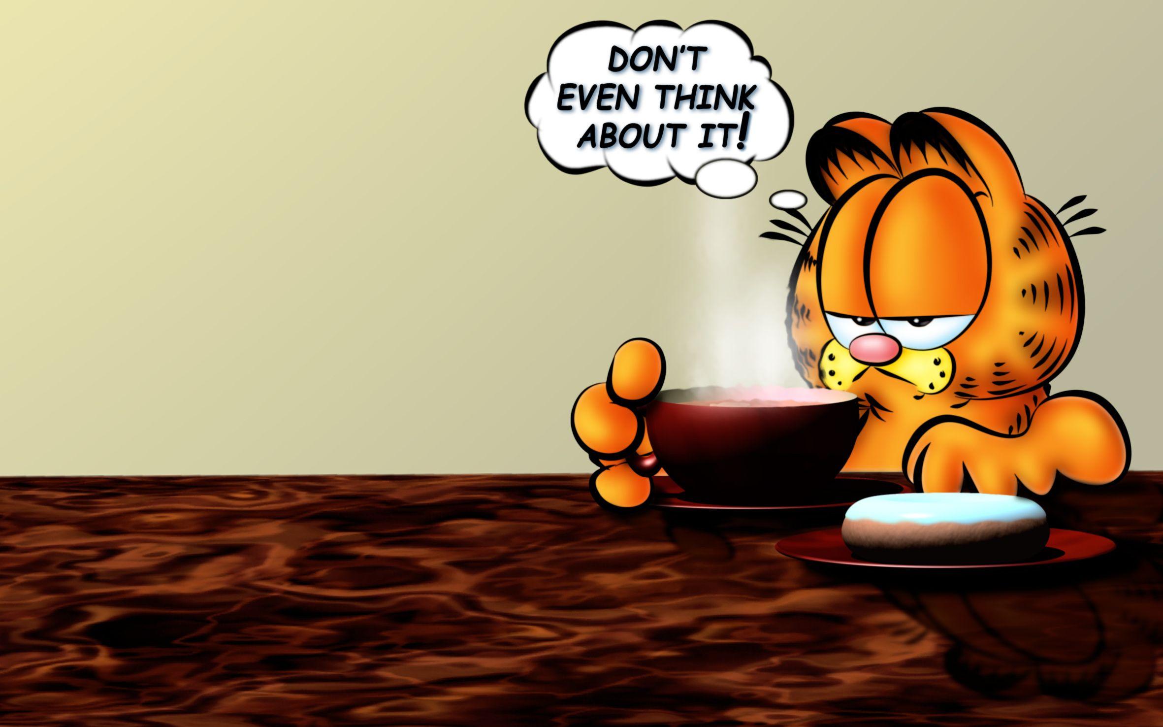 Garfield Coffee Wallpaper http//www.freehdwallpapers