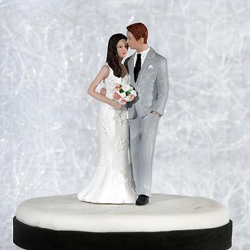 Tortenfigur Kiss me  Wedding  Hochzeitstorte  Wedding