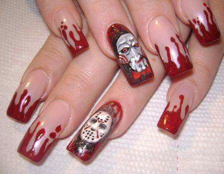 I like the design. My problem is patience and false nails!!