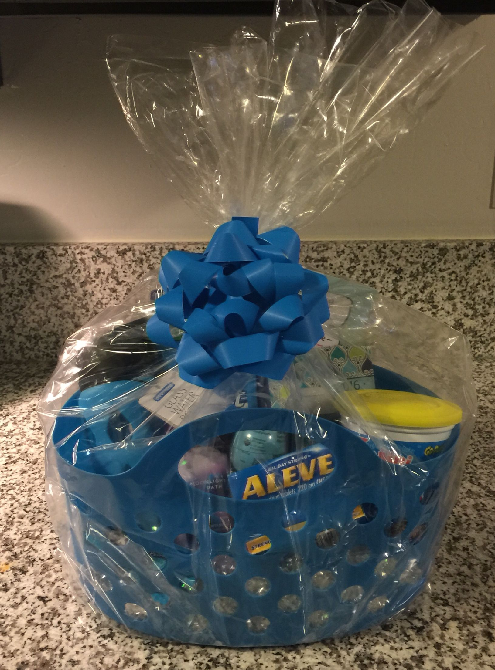 Farewell basket (I'll be so blue without you) for my ...