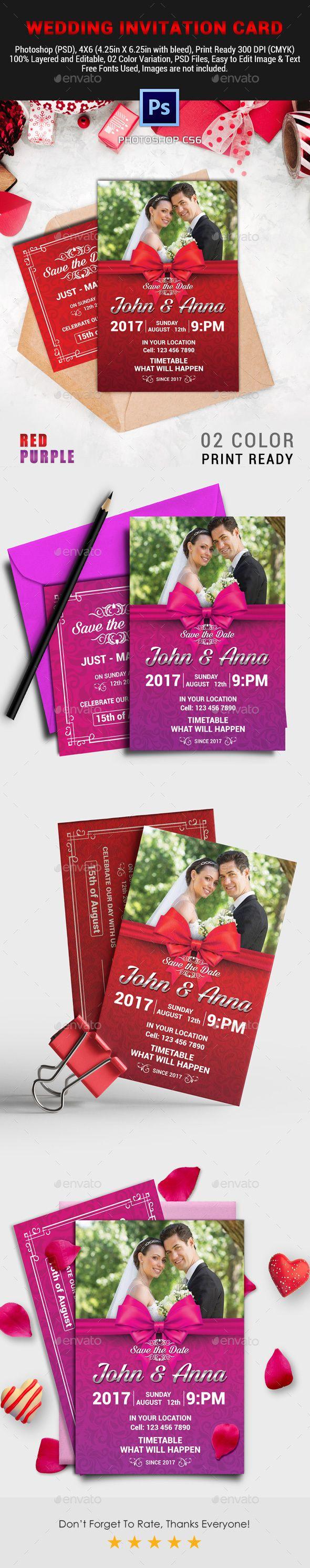 Wedding Invitation Card Vol 03 Wedding