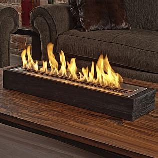 The Sienna Indoor Bio-Ethanol Fireplace by Brasa