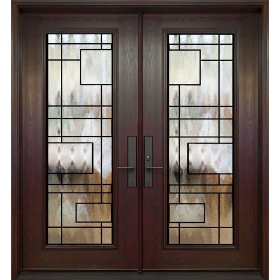 Double Entry Door Full Size Chicago Wrought Iron Design Ferrumtech Collection Window Grill Design Modern Window Grill Design Grill Door Design