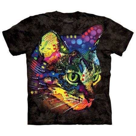 The Mountain Black Cotton Mysterio Gaze Design Parody Novelty Adult T-Shirt