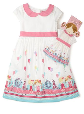 661fce4b33d Millie Peterpan Collared Dress With Matching Doll Dress | For those ...