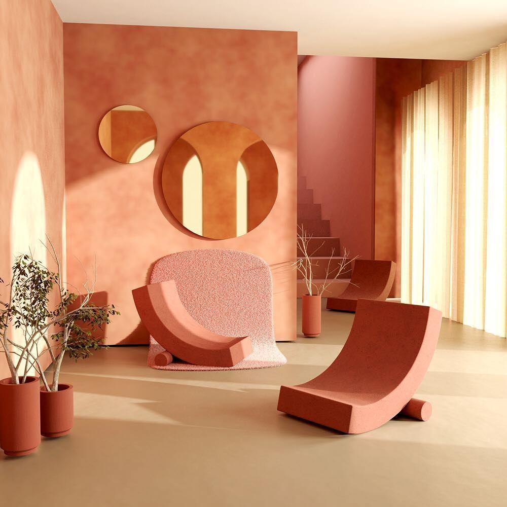 Interior Inspiration - Coral