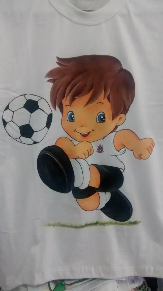 Pin de ana paula regner amora artesanatos en meninos - Dibujos para pintar en tela infantiles ...