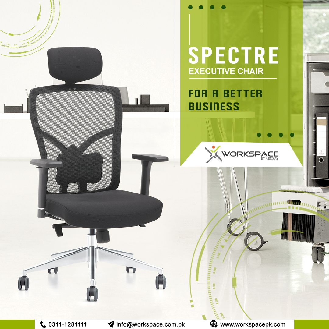 Spectre Executive Office Chair By Workspace Pakistan