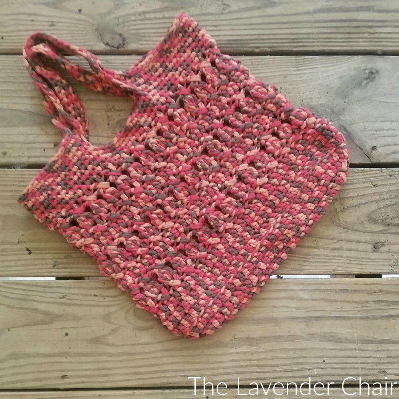 Crossed Bobble Tote Bag Crochet Pattern   Bolsas lindas