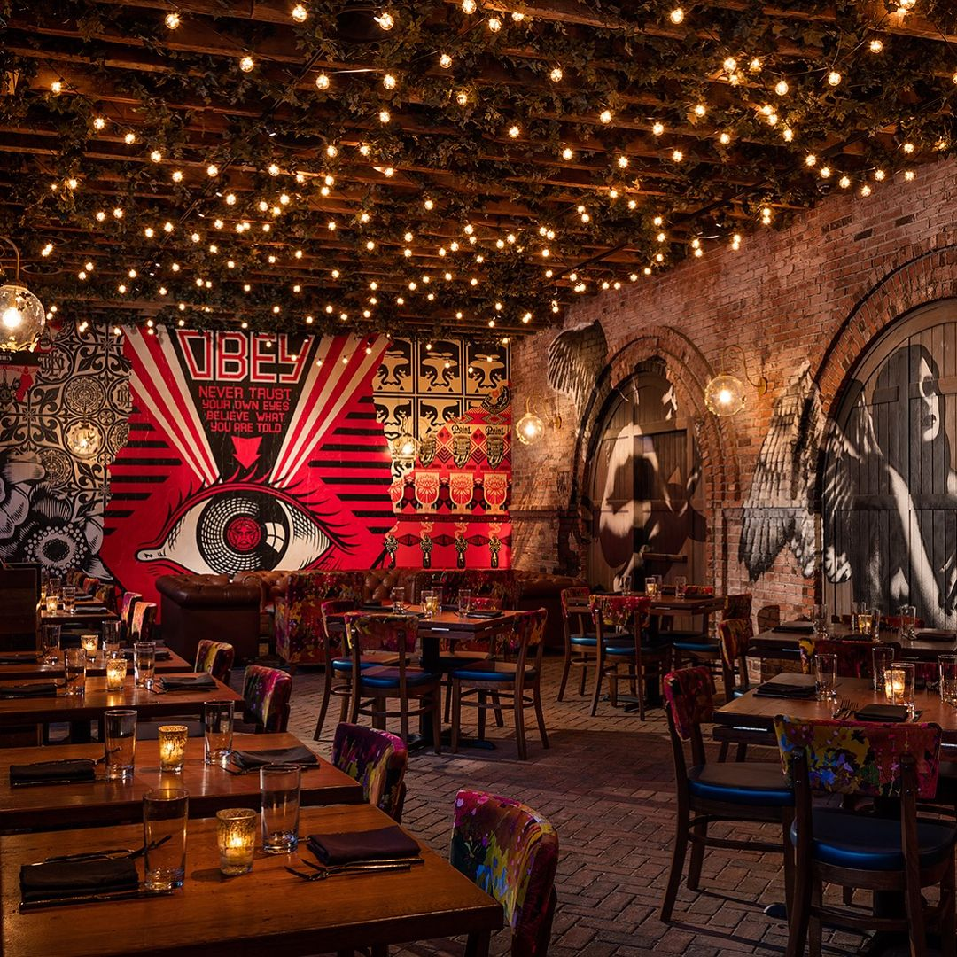 Can T Decide Where To Eat Dinner We Can T Either So Many Great Choices During This Summer S Art Restaurant Bar Design Restaurant Restaurant Interior Design