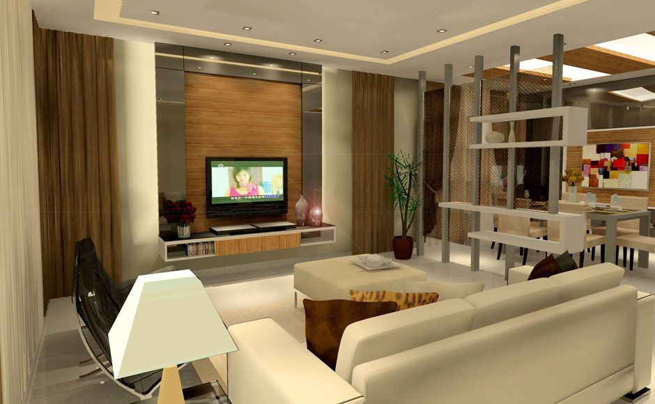 Residential Interior Design Rawang Semi Bungalow Malaysia Interior Design Living Room Living Room Interior Home Decor