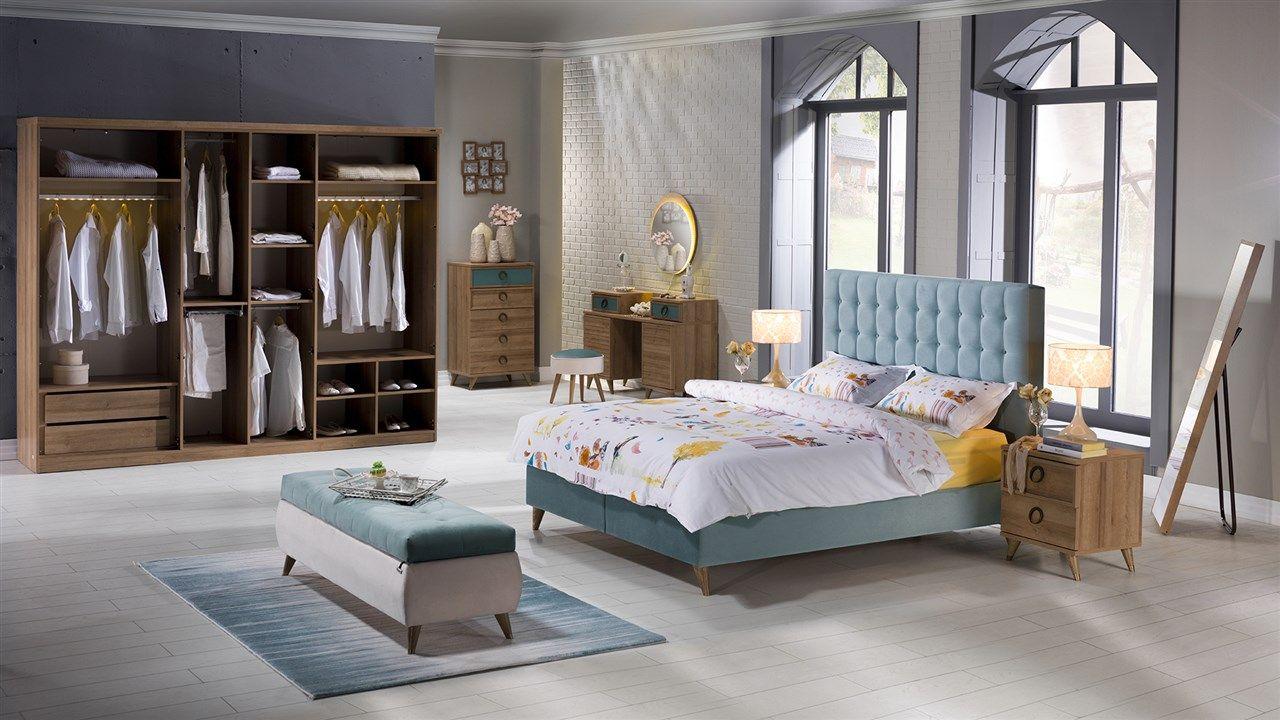 Modern yatak odalar sude yatak odas takm - Vienza Yatak Odas Tak M Bellona Mobilya