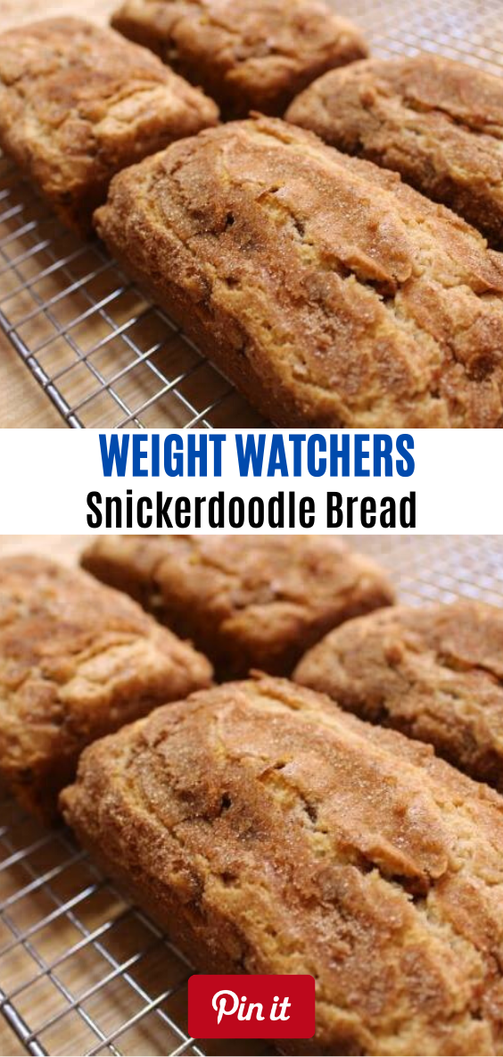 Snickerdoodle Bread // #weightwatchersrecipes  #smartpointsrecipes #WeightWatchers #weight_watchers #Healthy #Skinny_food #recipes #smartpoints #weightwatchersmeals #bread