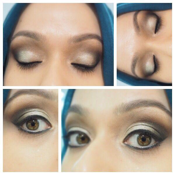 Simple smokey eye Makeup look perfect for registry look