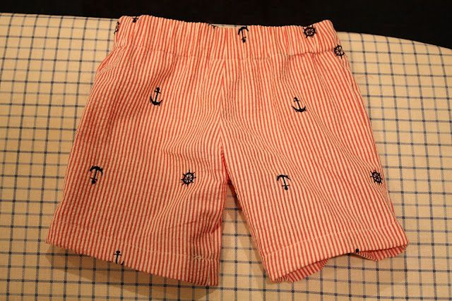 Pattern for boy shorts