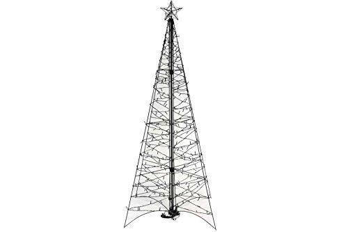 weihnachtsbaum pyramide 264 led 160 cm warmweiss au en. Black Bedroom Furniture Sets. Home Design Ideas