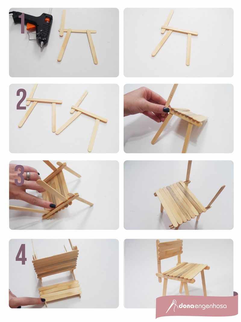 Amado cadeirapalito | Artesanato | Pinterest | Palitos, Palito de picolé  AB94