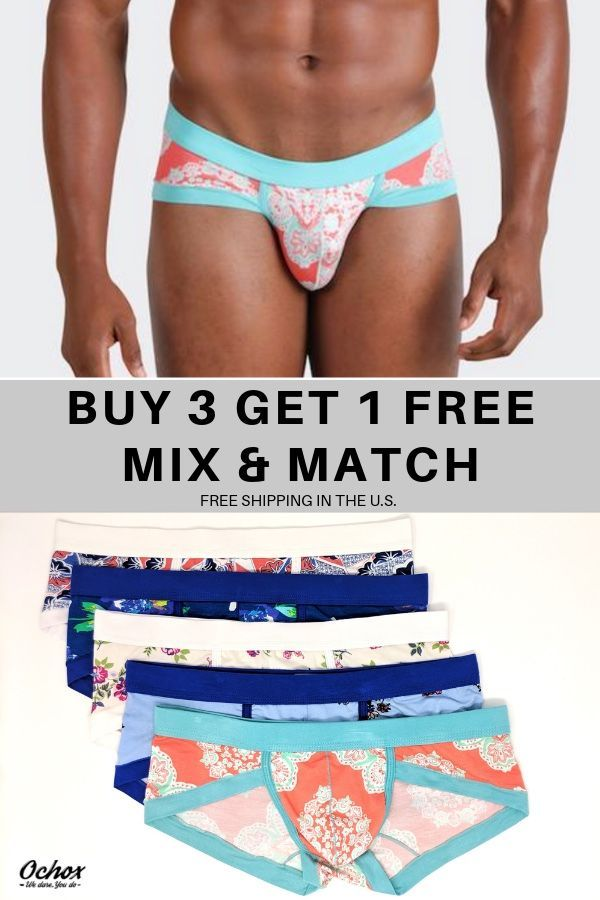 af546f0cf4c0 Keep the boys comfortable and stylish all day and night in Ochox men's  briefs, where
