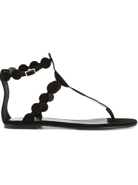 4e51b2b66d779f Pierre Hardy Flat sandals