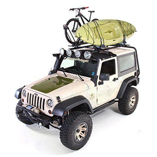 Rugged Ridge Sherpa 2 Door Jk Jeep Roof Rack Kit Jeep Jeep